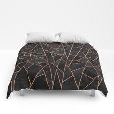 Shattered Black / 2 Comforters