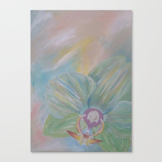Tipsy Orchid Canvas Print