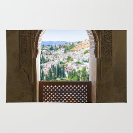 Alhambra palace in Spain, Print (RR 258) Rug