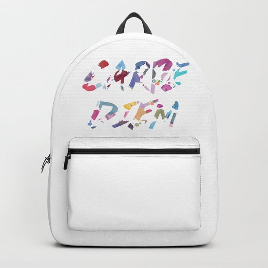 Carpe Diem Color Ink Backpack