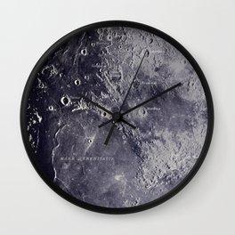 Experiment 01: The Moon, Mare Serenitatis Wall Clock