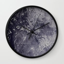 Experiment 01: The Moon, Mare Serenitatis Wall Clock