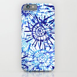 Circles Tie Dye iPhone Case