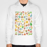 be happy Hoodies featuring Happy by VLAD stankovic