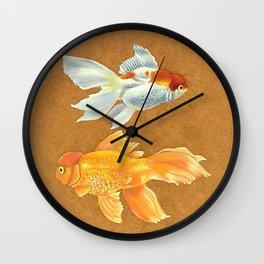 Agua Fresca Wall Clock