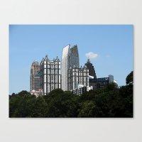 atlanta Canvas Prints featuring Atlanta by BrandonAddisArt
