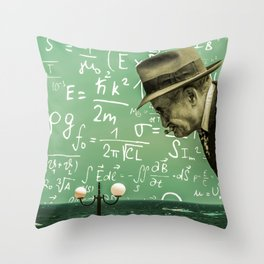 Simple Complexity Throw Pillow