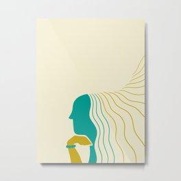 Dona Metal Print
