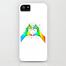 LGBT (80) iPhone Case