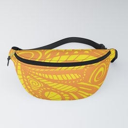 Mellow Yellow Parrot Fanny Pack