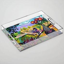West Virginia Sea Acrylic Tray
