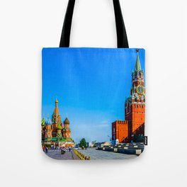 Red Square of Moscow Tote Bag