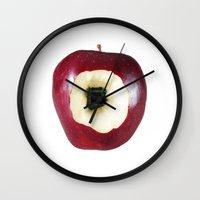 computer Wall Clocks featuring Apple Computer! by Massimo Merlini