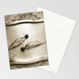 Entre peces y cerezas Stationery Cards