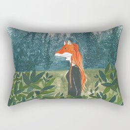 Into the wild Rectangular Pillow