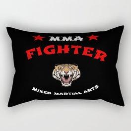 MMA Fighter Tiger Rectangular Pillow