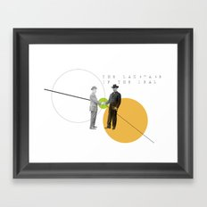 The Language of the Deal Framed Art Print