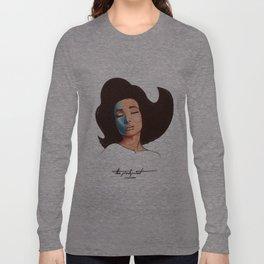 Pinkprint Illustration Long Sleeve T-shirt