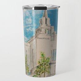 Kyiv Ukraine LDS Temple Travel Mug