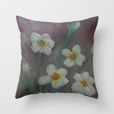 Forget-Me-Never Throw Pillow