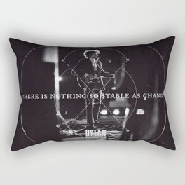 There Is Nothing So Stable As Change Rectangular Pillow