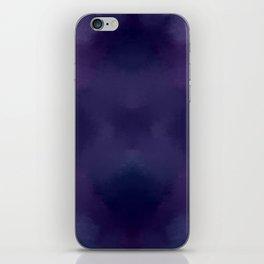 Deep Violet Tie Dye iPhone Skin