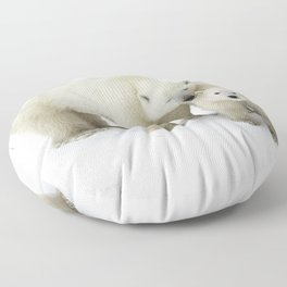 Mother and Cub Floor Pillow