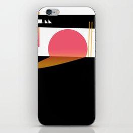 Melting Sun iPhone Skin