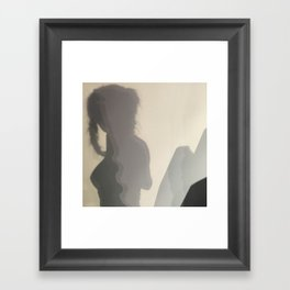 She Mountains Framed Art Print