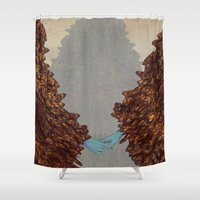 community Shower Curtains featuring Community by Rhea Ewing