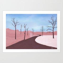 A Walk Art Print