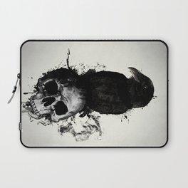 Raven and Skull Laptop Sleeve