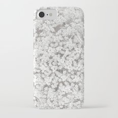 Queen Anne's Lace Flower in Soft Sepia Tones Slim Case iPhone 7