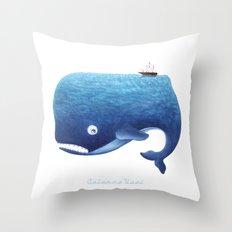 Moby Dick Throw Pillow