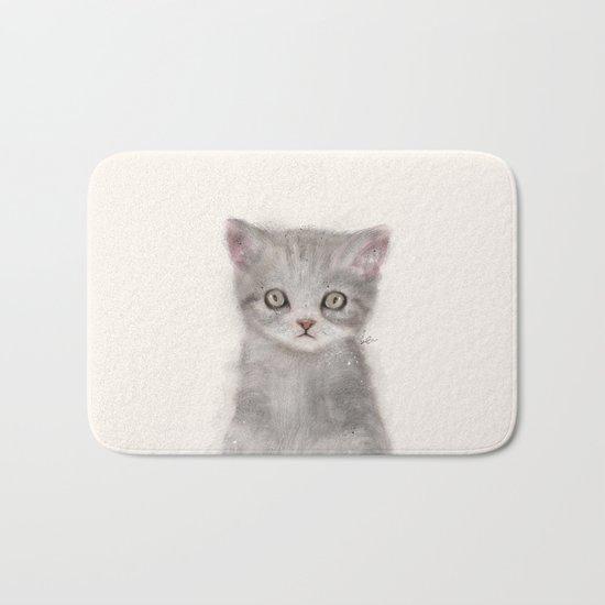 little kitten Bath Mat