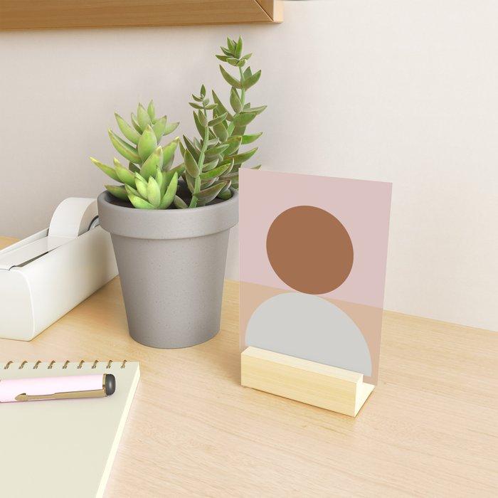 Abstract Geometric #fallwinter #colortrend #decor Mini Art Print