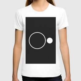 Emptiness - Black and White Minimalism T-shirt
