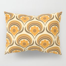 Orange  Daisy Dream Pillow Sham