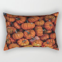 Orange Gourds Rectangular Pillow