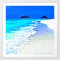 Heavenly Water Art Print