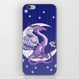 Vendel Dragon - the moon iPhone Skin