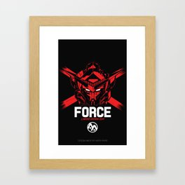 FORCE SIGMA RED Limited Edition Framed Art Print
