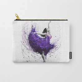 Purple Rains Ballet Carry-All Pouch