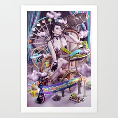 THE ELEGANT SHOW Art Print