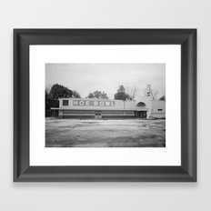 Hoe Bowl Framed Art Print