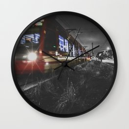 on the right track Wall Clock