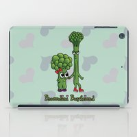 boyfriend iPad Cases featuring Broccolini Boyfriend by khalan