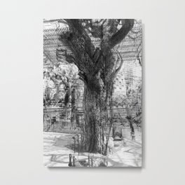 lay the ground for harmonious constructions? Metal Print