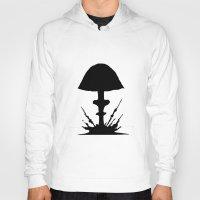 mushroom Hoodies featuring Mushroom by Kristijan D.