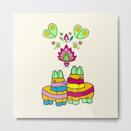 Pinata Love Metal Print